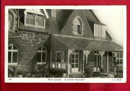 EZN-13  Bryn Corach, Conwy  A Corner Verandah.  Used In 1950 - Unknown County