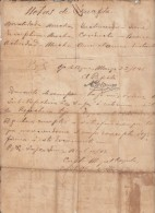 *E604 CUBA INDEPENDENCE WAR 1898. HOJA DE SERVICIOS DE PREFECTO MAMBI. FIRMADO COMANDANTE MIGUEL COYULA LLAGUNO - Documentos Históricos