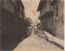 *E644 CUBA SAN GERONIMO STREET PHOTO ORIGINAL 24x 19cm CIRCA 1920 SANTIAGO DE CUBA.