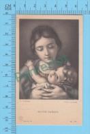 Alinari Serie B -72 ( Mater Christi,   Cignani )  Holy Cards Santino Image Pieuse 2 Scans - Images Religieuses