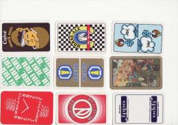Lot De 26 Dos Publicitaires + 1 Joker Miniature - Cartes à Jouer