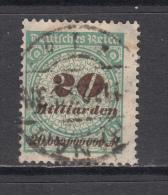 1923   MICHEL   Nº  329 A P  HT   --Geprüft -- - Germany