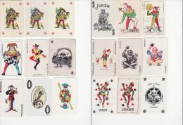 Lot De 18 Jokers - Non Classés