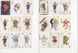 Lot De 18 Jokers - Cartes à Jouer