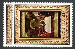 801x)  Anguilla 1969- SG # 53/54  Mnh**  Catalogue £ .60 - Anguilla (1968-...)