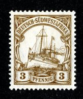 (2005)  SW Africa 1906  Mi.24  M*   Catalogue  € 1.00 - Colony: German South West Africa