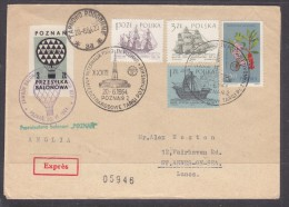 POLAND 1964 (20 JUNE) BALLOON CHAMPIONSHIPS FOR 33RD POZNAN INTERNATIONAL TRADE FAIR - Airmail