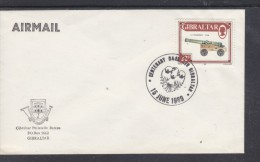 Gibraltar Philatelic Bureau, Unaddressed Envelope, Special Cancel CENTENARY BARCLAYS GIBRALTAR 15 June 1989 - Gibraltar