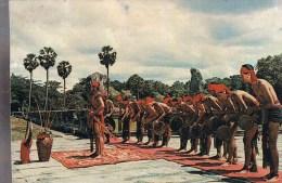 ANGKOR . Danse Folklorique Des Khmers Loeu . ( Montagnards ) .