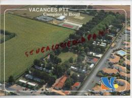 85 - LONGEVILLE SUR MER - VACANCES PTT  CAMPING VNDE  LE BOUIL - Autres Communes