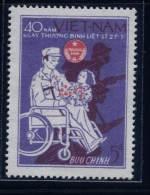 Vietnam Viet Nam MNH Stamp 1987 : 40th Anniversary Of The War Martyrs & Invalids´ Day / Wheelchair / Handicap (Ms519 - Vietnam