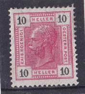 1905 KAISERKOPF 10 HELLER  **