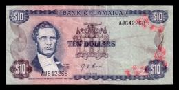 Jamaica 10 Dollars 1976 P.62 F - Jamaica
