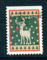 USA  -  2009  Christmas  44c  Used As Scan - Used Stamps
