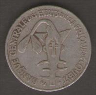 ETATS DE L´AFRIQUE DEL´OVEST 50 FRANCS 1978 - Monete