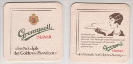 Grenzquell Brauerei , Pilsner - Bubiköpfe - Bierdeckel