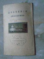 Huguenin Zürich  - Carte De Consommation -  Gattiker Und Co   MENU  1931   B158.8 - Platos, Vasos Y Cubiertos