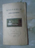 Huguenin Zürich  - Carte De Consommation -  Gattiker Und Co   MENU  1931   B158.8 - Dishware, Glassware, & Cutlery