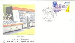 Journée Du Tilmbre 16 Mars 1991    Besançon Doubs Franche Comté France - 1990-1999