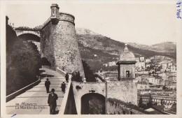 Monaco - Montée Du Palais - Editeur Munier - Monte-Carlo