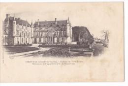 FONTENAY LE COMTE. - Château De Terre-Neuve. Carte Précurseur - Fontenay Le Comte