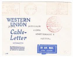 GB  Freistempel 17.4.1931 London Brief Nach Wien Ab Berlin Mit Luftpost Befördert - Poststempel - Freistempel