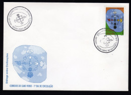 Cape Verde 2001 Year Of Dialogue Among Civilizations / Dialog / Dialogo FDC - Islas De Cabo Verde