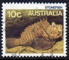 Australia 1986 Marine Life 10c Stonefish Used - - 1980-89 Elizabeth II