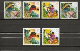 BHOUTAN  N° 363à368 NEUF SANS  CHARNIERE COTE  4.00€ SCOUTISME - Bhutan