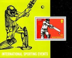 Montserrat - 2014 - International Sporting Events - Mint Souvenir Sheet - Montserrat