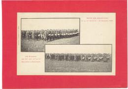 NANCY 1899 REVUE DES RESERVISTES 11e DIVISION MUSIQUES DES REGIMENTS INFANTERIE CARTE PRECURSEUR EN BON ETAT - Nancy