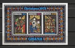 GHANA BLOC N° 46 NEUFS SANS CHARNIERE COTE 15.00€ NOEL - Ghana (1957-...)