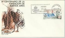 ESPAÑA SPD FDC FUNDACION DE BUENOS AIRES ARGENTINA - American Indians
