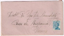 XW 1094 25 Centesimi Singolo - Annullo Tipo Austriaco Graun (Curon Venosta) 1919 - 1900-44 Vittorio Emanuele III