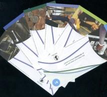 DE LA RUE Lot With 6 Different ATM TEST Notes UNC Uncirculated - Neuf - Vorzüglich #37 - Fictifs & Spécimens