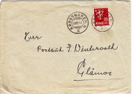 Bahnpost Norwegen Rørosbanen. N   Vom 29.3.1943 - Covers & Documents