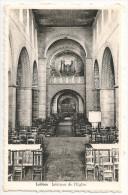 Belgique, Hainaut, LOBBES Intérieur De L´Eglise, Les Orgues (VERSO) - Edit. Mme Fosset, 11, Grand´Place - Cpa - Lobbes