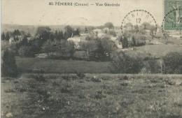 23,Creuse, FENIERS,Vue D'Ensemble, Scan Recto-Verso - Frankreich