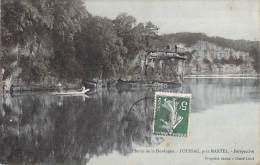 FOUSSAC Près MARTEL 46 : Bords De La Dordogne : Perspective - CPA Colorisée - Lot - France