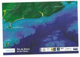 14493 - CARTE SHOM - 3D -RIA DE BELON Et DE L'AVEN (Bretagne) Île Raguenez - Port Manech Etc. - Pont Aven
