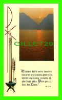 IMAGES RELIGIEUSES - QU'AINSI BRILLE VOTRE LUMIÈRE AUX PEUR DES HOMMES... - MT. 5,16 - F B - - Images Religieuses