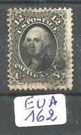 EUA Scott  69 Black And Red Cancel YT 23 # - Used Stamps