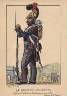 Le Sapeur Pompier Vers 1835 - Uniformi