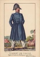 L'agent De Police Vers 1835 - Uniformi
