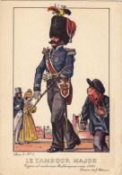 Le Tambour Major Vers 1835 - Uniformi