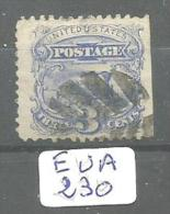 EUA Scott 114 Very Fine YT 31 # - 1847-99 Emissions Générales