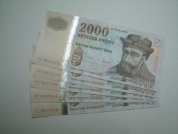 % Banknote - Hungary - 2000 HUF - 2013 UNC - CC361 - Ungarn