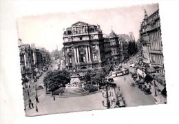 Carte Bruxelles Place Brouckere Theme Tramway  Cachet - Belgium