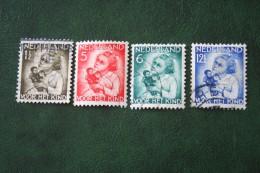 Kinderzegel Child Welfare Enfants Kinder NVPH 270-273 (Mi 277-280) 1934 Gestempeld / USED NEDERLAND / NIEDERLANDE - Oblitérés