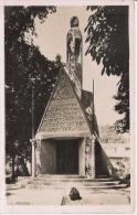 SILLERY BELLEVUE (MARNE) CARTE PHOTO MAUSOLEE  BATAILLES DE CHAMPAGNE ERIGE A LA MEMOIRE DES HEROS PRIVES DE SEPULTURE - Monuments Aux Morts